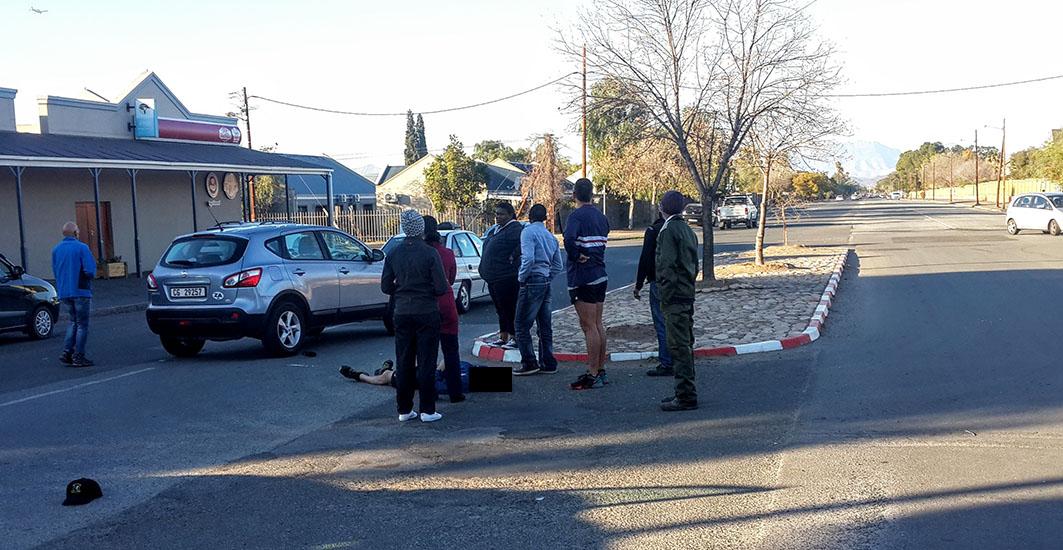 Soldaat erg beseer in ongeluk in Parkweg