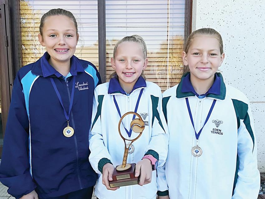 Laerskool Wesbank leerders presteer by die cape Town Mini Series-tenniskampioenskap