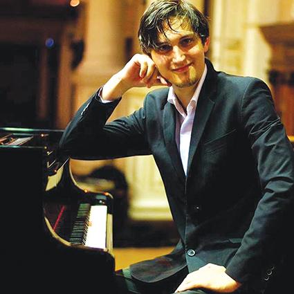 Begaafde pianiste na O'hoorn
