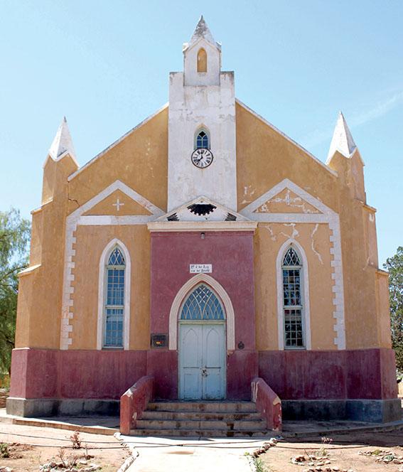 Amalienstein-kerk vier 165ste bestaansjaar