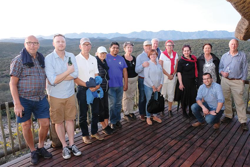Swedish Rotarians visit Oudtshoorn