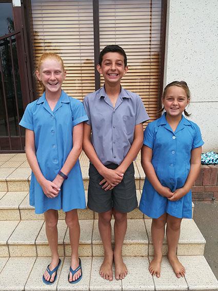 Drie leerders van Laerskool Wesbank gekies vir Eden se tweekampspan