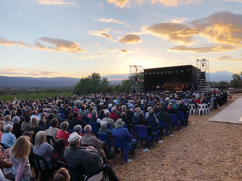 ABBA-konsert: Mooi weer en sterre!