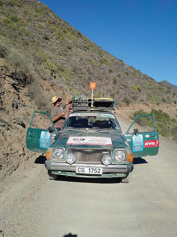 Ou Mazda kry 2de asem