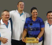 Oudtshoorn Rolbalklub se mansspan wen jaarlikse toernooi op Beaufort-Wes