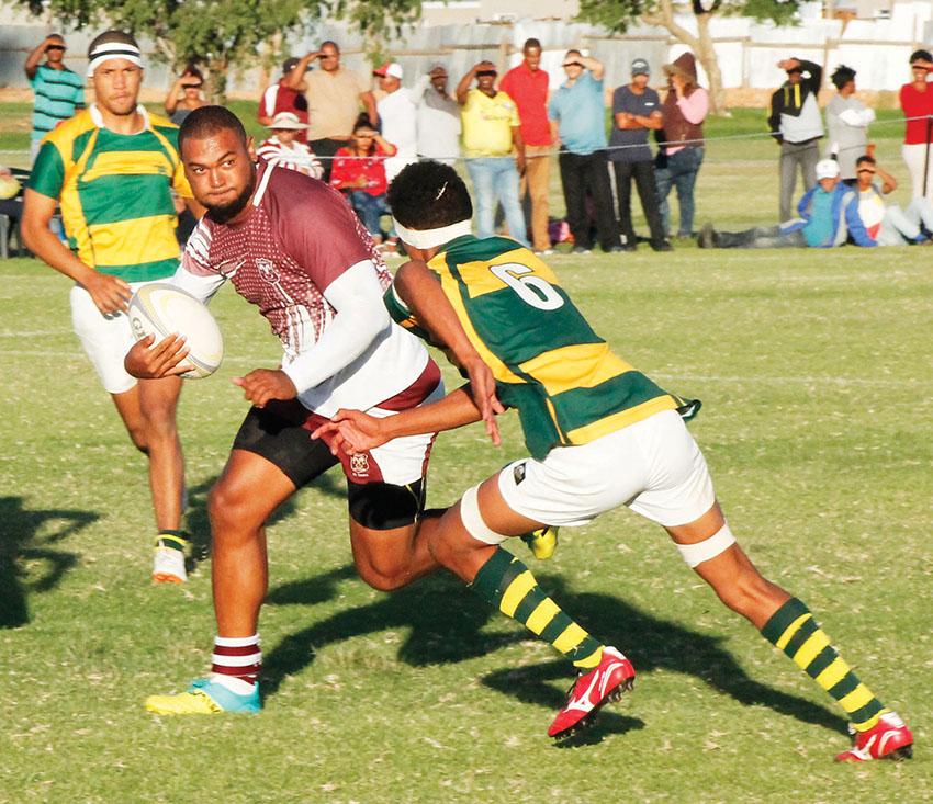 Bridgton Rugbyklub klop Paarl