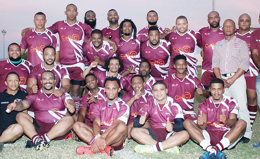 Bridgton Rugbyklub se A-span klop Jaquars van Plettenbergbaai