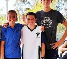 Oudtshoorn Junior Muurbalklub neem deel aan eerste Junior Bells-toernooi