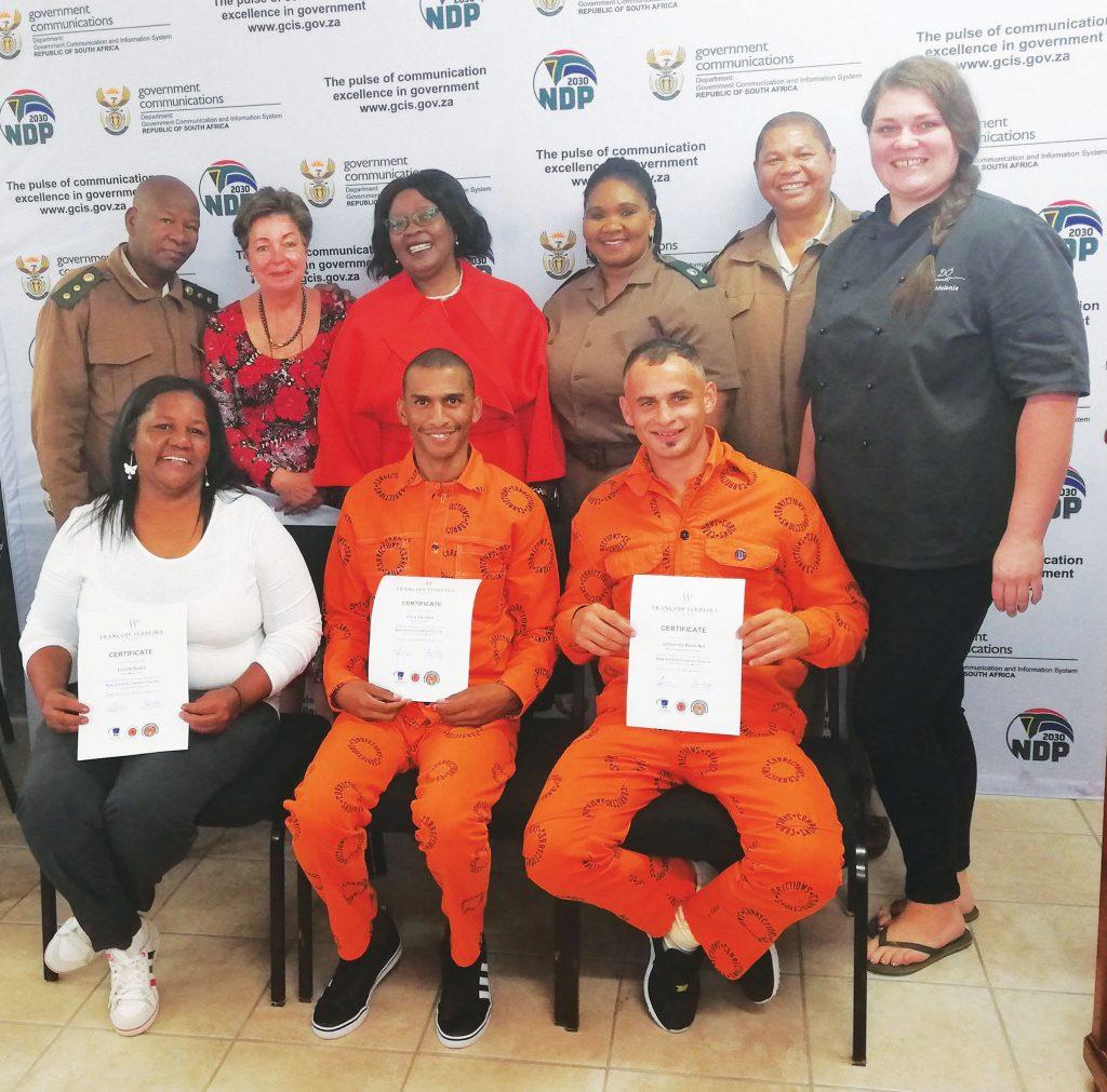 Gevangenes ontvang diplomas