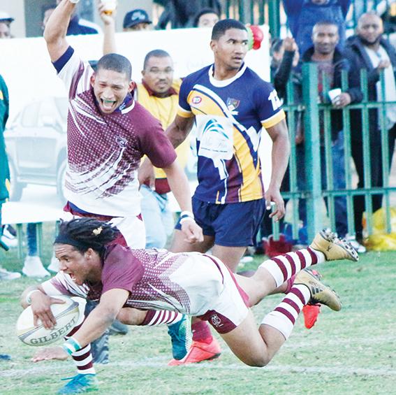 Bridgton Rugbyklub se A-span wen Barbarians
