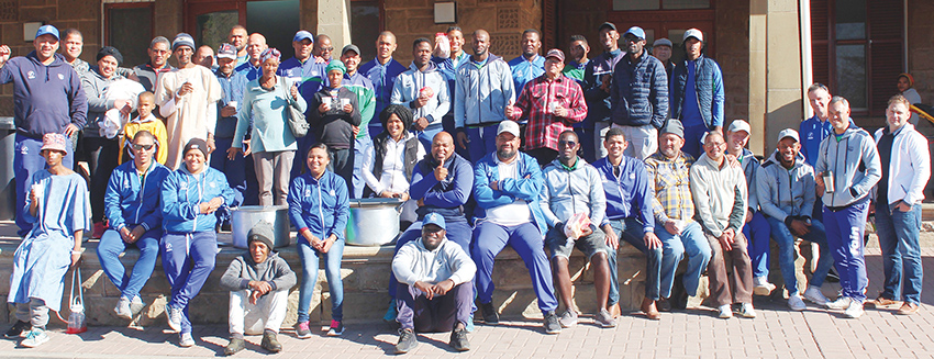 South Western Districs Cricket showed support for Mandela Day