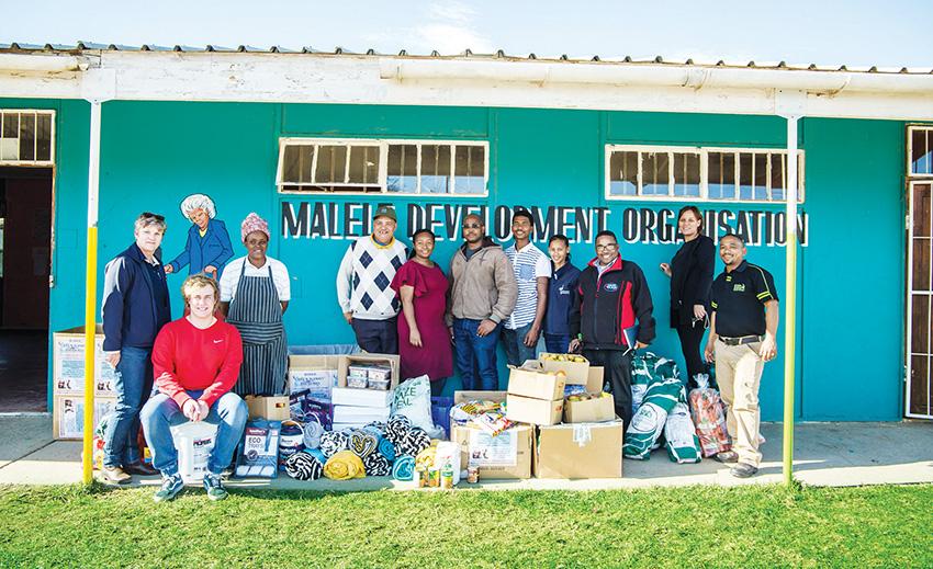 Mandela Day: Support for Malele Development