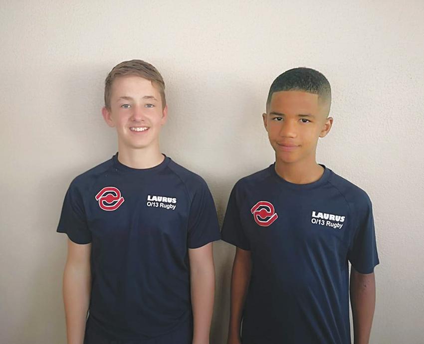 Twee leerders van Laerskool Laurus gekies vir SWD o.12 rugbyspan