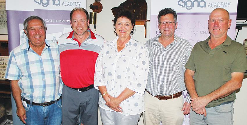 Verwey en Van Rensburg  wen besigheidskamergholf