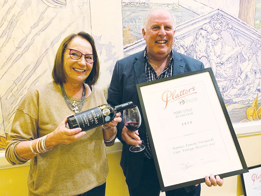 Port Wine of the Year for Boplaas